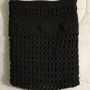 Chauteau Black Crossbody Bag